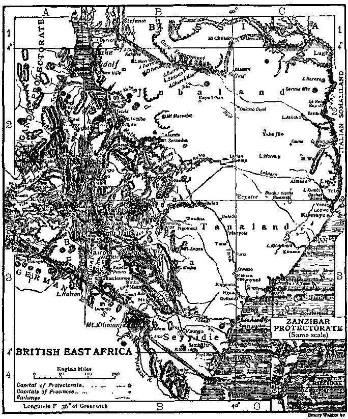 British East Africa 1911