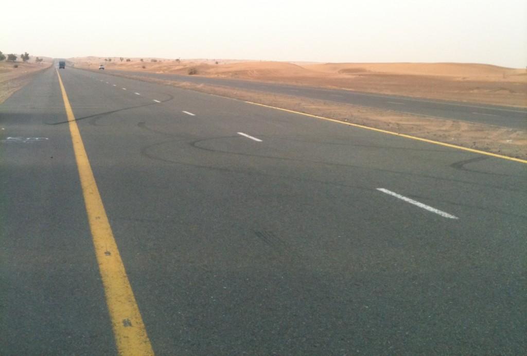 Carretera desierto Safari Dubái